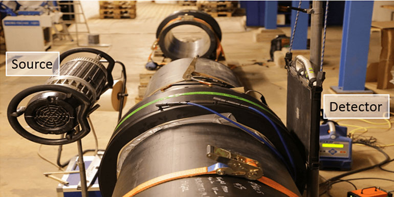 HDPE pipe line inspection